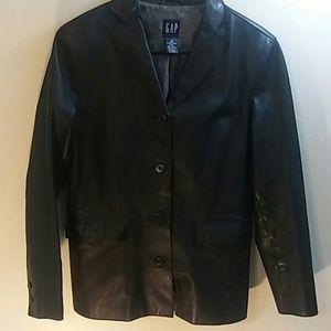 GAP Genuine Leather Jacket Size XS WMNS